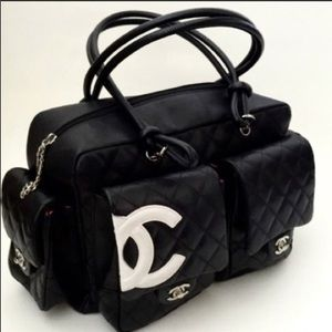 Authentic CHANEL Cannon Reporter Bag Purse